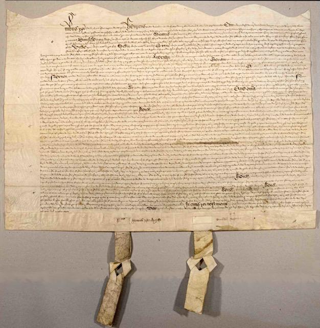 Beccles Townlands Trust - Trust Deed of 1544